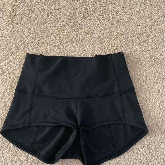 lululemon athletica Pants - Lululemon High wasted spandex shorts / 2inch